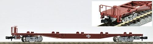 8714 JR貨車 コキ50000形(グレー台車・コンテナなし・テールライト付)[TOMIX]《在庫切れ》