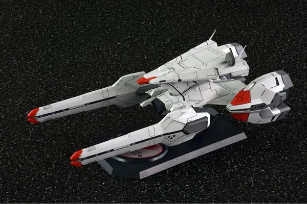 (箱破損特価新品)ハイパーコンストラクションキット 1/1500 機動戦艦ナデシコ ナデシコ級一番艦『ナデシコ』 プラモデル[アクアマリン]《在庫切れ》