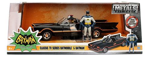 1/24 1966 Classic TV Series Batmobile w/Diecast Batman[Jada Toys]《在庫切れ》