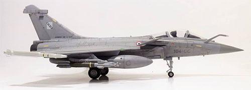 1/48 ダッソー ラファール C フランス空軍戦闘機 スーパーキット プラモデル[マストハブ]《在庫切れ》