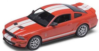 1/24 シェルビーコブラ GT500 2007(レッド)(再販)[WELLY]《取り寄せ※暫定》