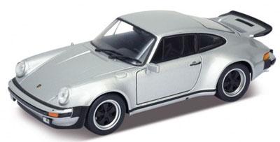 1/24 ポルシェ 911 ターボ 1974 (シルバー)(再販)[WELLY]《在庫切れ》