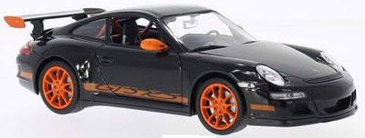 1/24 ポルシェ 911(997) GT3RS(ブラック)[WELLY]《取り寄せ※暫定》