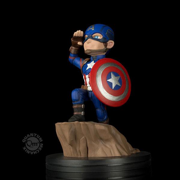 Qポップ/ シビル・ウォー キャプテン・アメリカ: キャプテン・アメリカ PVCフィギュア