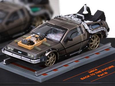 1/43 ダイキャストモデルカー バック・トゥ・ザ・フューチャー PartIII デロリアン マークIII レイルロード