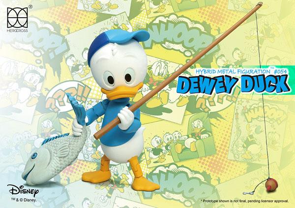 ハイブリッド・メタル・フィギュレーション #054 『ディズニー』デューイ