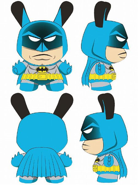 ダニー/ DCコミックス バットマン 5インチ フィギュア: バットマン クラシック ver[キッドロボット]《取り寄せ※暫定》