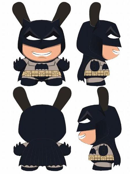 ダニー/ DCコミックス バットマン 5インチ フィギュア: バットマン ダークナイト ver[キッドロボット]《取り寄せ※暫定》