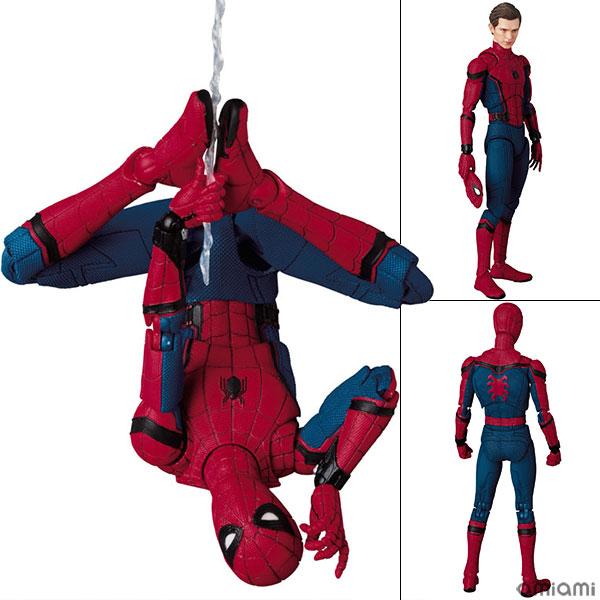 マフェックス No.047 MAFEX SPIDER-MAN(HOMECOMING Ver.) 『スパイダーマン:ホームカミング』より(再販)[メディコム・トイ]《発売済・在庫品》