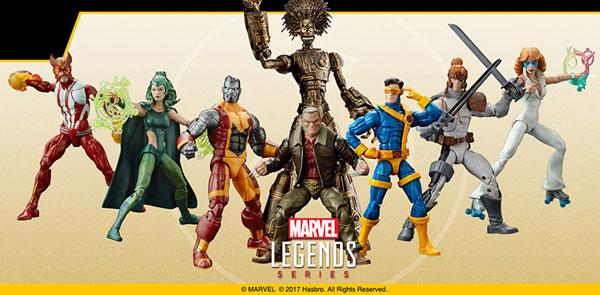『マーベル・コミック』 ハズブロ アクションフィギュア 6インチ「レジェンド」X-MEN シリーズ2.0 8個入りアソート[ハズブロ]【送料無料】《在庫切れ》