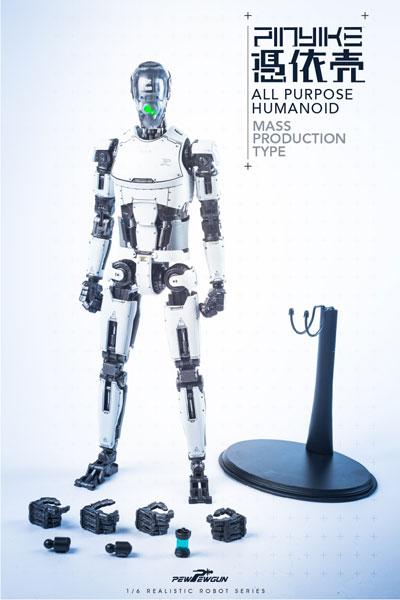 1/6 リアリスティック ロボット シリーズ ロボティック 素体 ピンヤイク マスプロダクションタイプ (ホワイト)