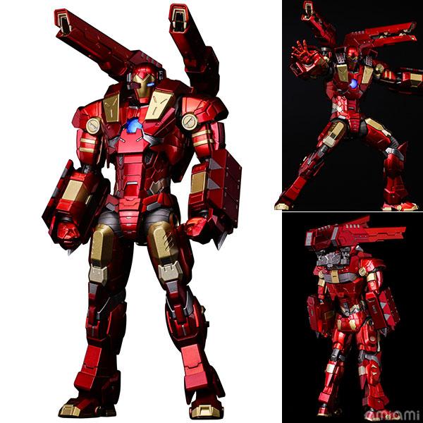 "RE:EDIT IRON MAN #11 MODULAR IRONMAN W/Plasma Cannon & Vibroblade ""subject to final licensor's approval""[千値練]【送料無料】《在庫切れ》"