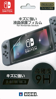 キズに強い液晶保護フィルム for Nintendo Switch[ホリ]《在庫切れ》