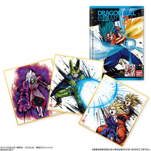 ドラゴンボール 色紙ART3 10個入りBOX (食玩)[バンダイ]《在庫切れ》