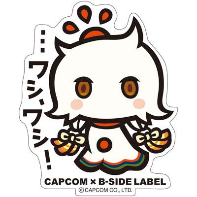 CAPCOM×B-SIDE LABELステッカー めがみめぐり アマテラスオオミカミ[B-SIDE LABEL]《在庫切れ》