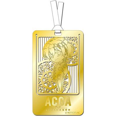 『ACCA13区監察課』 メタルアートしおり リーリウム[ACG]《在庫切れ》