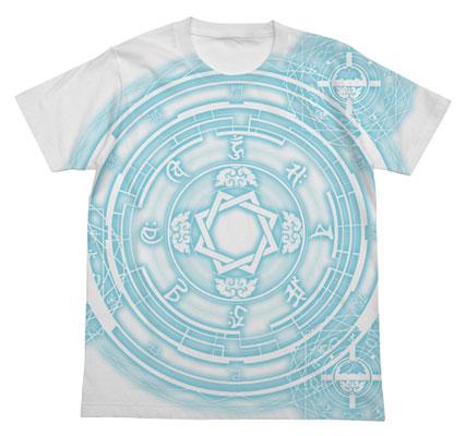 ブレイブウィッチーズ ウィッチの魔法陣Tシャツ扶桑Ver./ホワイト-L(再販)[コスパ]《10月予約》