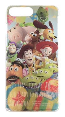 ディズニーキャラクター キャラクターオーバーレイシリーズ iPhone7 Plus対応 ハードケース トイ・ストーリー(DN-424D)[グルマンディーズ]《在庫切れ》