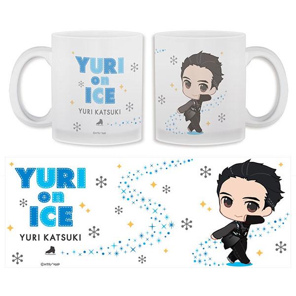 ぬいぐるみに ユーリ!!! on ICE グラスマグカップ 1 勝生勇利[Gift]《取り寄せ※暫定》