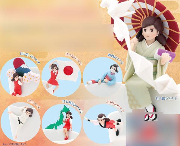 コップのフチ子 JAPAN 12個入りBOX(再販)[奇譚クラブ]《在庫切れ》