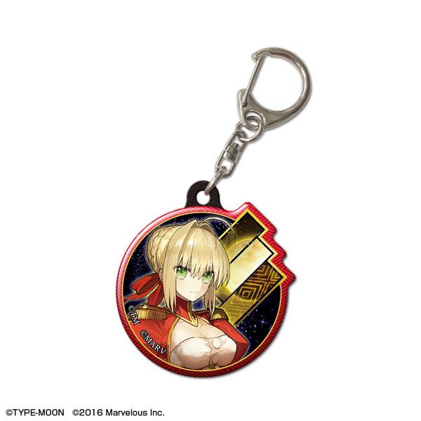 「Fate/EXTELLA」ぷくっとキーホルダー デザイン01(ネロ・クラウディウス)(再販)[ライセンスエージェント]《11月予約》