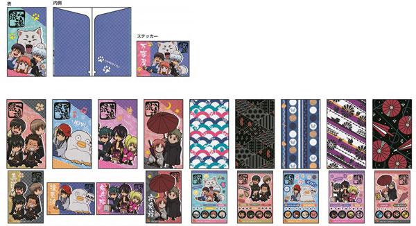 銀魂 スリムクリアファイルコレクション 10個入りBOX[POMMOP]《在庫切れ》