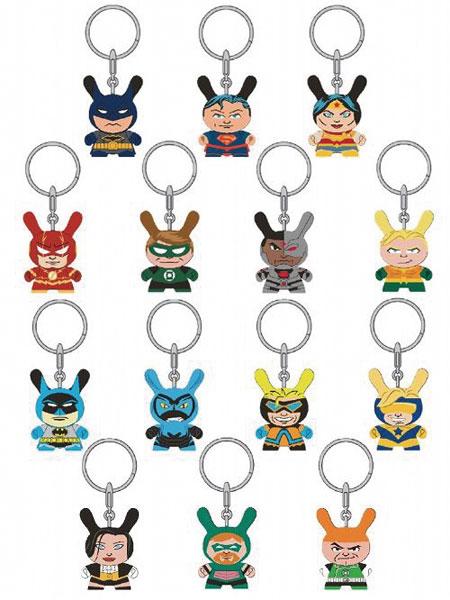 ダニー/ DCコミックス ジャスティスリーグ 1.5インチ ミニ フィギュア キーチェーン: 24個入りBOX[キッドロボット]《在庫切れ》