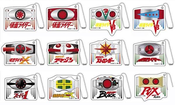 ミニアクリルキーホルダー 仮面ライダーシリーズ 昭和Ver. 12個入りBOX[バンダイ]《在庫切れ》