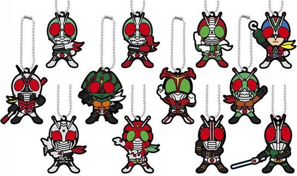 ラバーマスコット 仮面ライダーシリーズ 昭和Ver. 12個入りBOX[バンダイ]《在庫切れ》