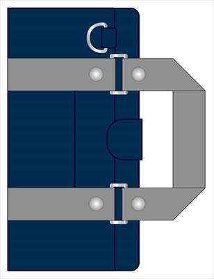 ラブライブ!サンシャイン!! 汎用手帳型スマホカバー 浦の星女学院スクールバッグデザイン[バンダイビジュアル]《在庫切れ》