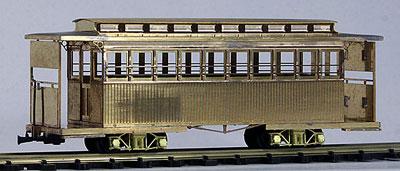 HOナロー 中勢鉄道 キホハ24 客車 改造タイプ 塗装済完成品[ワールド工芸]【送料無料】《在庫切れ》