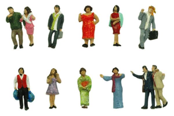 情景コレクション ザ・人間120 歓楽街の人々A(再販)[トミーテック]《01月予約》