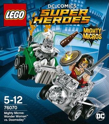 レゴ スーパー・ヒーローズ マイティマイクロ:ワンダーウーマン vs ドゥームズデイ[レゴジャパン]《在庫切れ》