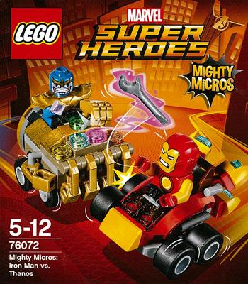 レゴ スーパー・ヒーローズ マイティマイクロ:アイアンマン vs サノス[レゴジャパン]《在庫切れ》