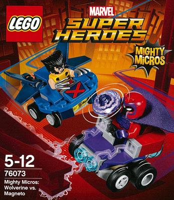 レゴ スーパー・ヒーローズ マイティマイクロ:ウルヴァリン vs マグニートー[レゴジャパン]《在庫切れ》