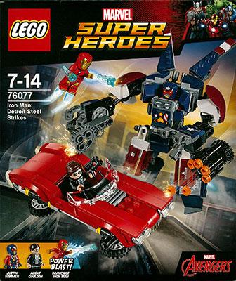 レゴ スーパー・ヒーローズ アイアンマン:デトロイト・スティールの攻撃[レゴジャパン]【送料無料】《在庫切れ》