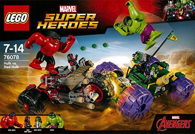 レゴ スーパー・ヒーローズ ハルク vs レッドハルク[レゴジャパン]《在庫切れ》