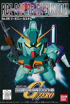 SDガンダム G-GENERATION No.05 リ・ガズィ・カスタム プラモデル