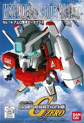 SDガンダム G-GENERATION No.14 アムロ専用ゼータプラス プラモデル