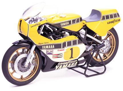 1/12 オートバイシリーズ No.1 ヤマハYZR500 グランプリレーサー プラモデル[タミヤ]《在庫切れ》