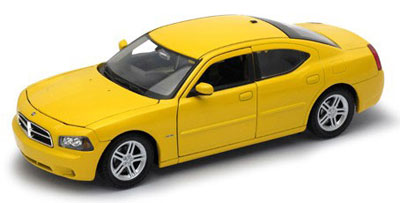 1/24 DODGE CHARGER デイトナ R/T 2006 (イエロー) (仕様変更ver)[WELLY]《在庫切れ》