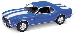 1/24 シボレーカマロ Z28 1968(ブルー)(再販)[WELLY]《取り寄せ※暫定》