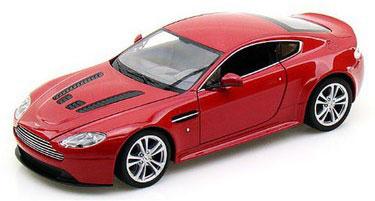 WELLY ダイキャストモデル 1/24 アストンマーチン V12 VANTAGE 2010(レッド)(再販)[WELLY]《在庫切れ》