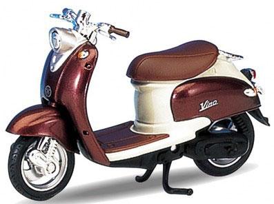 1/18 ヤマハ VINO 1999 YJ50R(ブラウン/アイボリー)[WELLY]《在庫切れ》