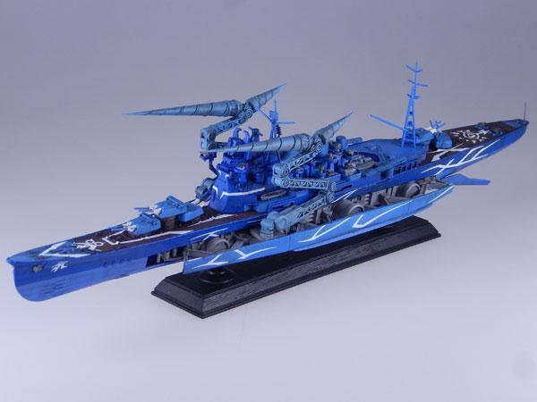 劇場版 蒼き鋼のアルペジオ -アルス・ノヴァ- 1/700 重巡洋艦タカオ ドリル形態 改造キット レジンキャスト製組立キット[RCベルグ]《在庫切れ》