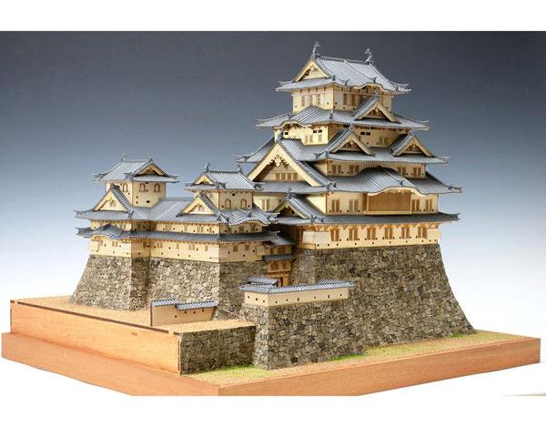 木製模型 1/150 姫路城[ウッディジョー]【送料無料】《在庫切れ》