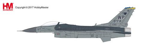 1/72 F-16CG Block 42 ナイト・ファルコン ウルフパック[ホビーマスター]《在庫切れ》