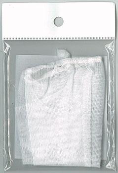 50cmドール用ネットストッキング(白) (ドール用衣装)[キューティーズ]《在庫切れ》