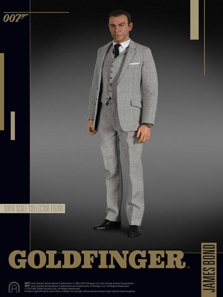 007 ゴールドフィンガー 1/6スケールフィギュア ジェームズ・ボンド