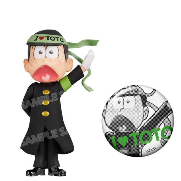 おそ松さん ワールドコレクタブルフィギュア-押忍松-黒ランver.(チョロ松)[エイベックス]《発売済・在庫品》